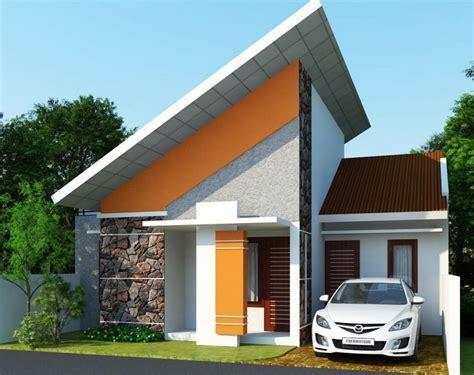 contoh desain rumah bergaya eropa minimalis terbaru