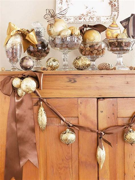 brown and gold christmas decorations 40 beautiful gold christmas decoration ideas