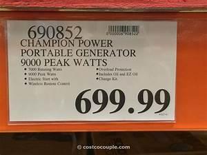 Review Champion Dual Fuel Generator
