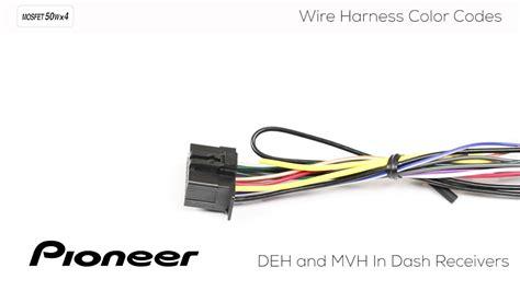 understanding pioneer wire harness color codes