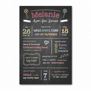 First birthday chalkboard template my product catalog for Chalkboard signs template