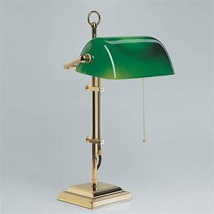 Bankerlampe Grün Original : bankerlampe schreibtischlampe berliner messing poliert w2 99gr p original bankerslamp ~ Markanthonyermac.com Haus und Dekorationen