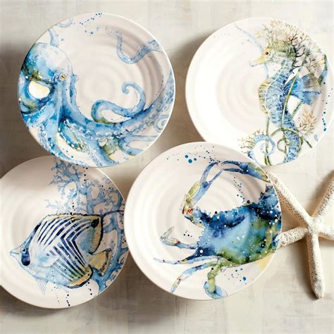 pottery barn desk sea dinnerware sea dinnerware sea