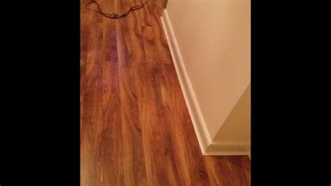 walnut gloss laminate flooring laminate flooring by perfection flooring walnut gloss laminate flooring installation youtube