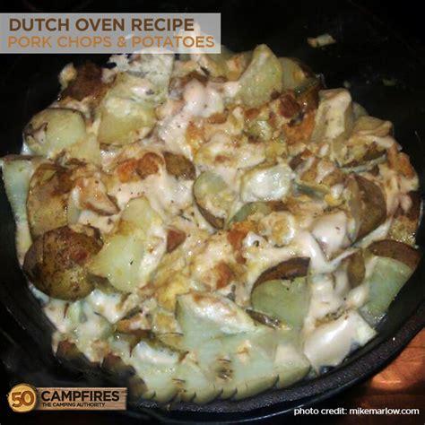 dutch oven baked potatoes