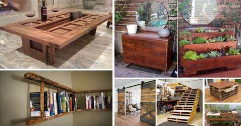 creative ways  give  life   wood furniture