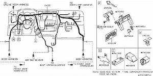 Nissan Versa Harness Main  Sed  Engine  Room