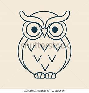 Owl Vector Stock Vector 145175581 - Shutterstock