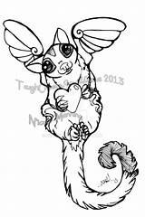 Glider Sugar Coloring Angel Ned Gliders Printable Getcolorings Drawings Animals Deviantart sketch template