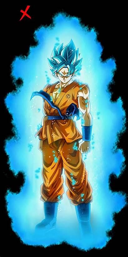 Goku Saiyan Aura God Ssj Son Dragon