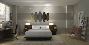 Loft apartment bedroom industrial modern a space to for Modern loft apartments scarsdale