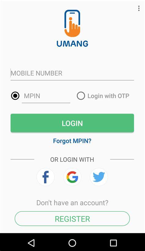 umang app  registration login services benefits