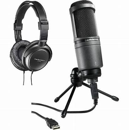 Microphone Usb Audio Technica Lg Headphones