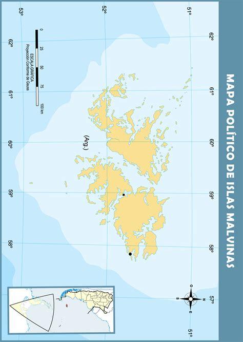 Mapas de Islas Malvinas Mapoteca