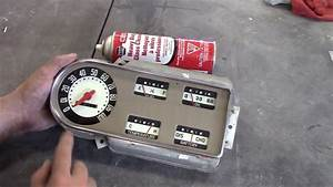 1950 Ford F47 F1 Restoration Update  Cluster  U0026 Speedometer
