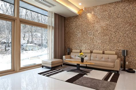 Modern Wood Wall Panels Living Room Saomcco