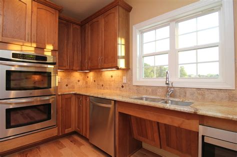 how to install cabinets in kitchen wheelchair accessible kitchen sink traditional kitchen 8685