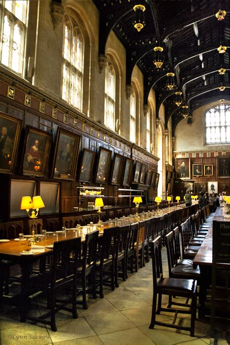 harry potters dining hall christchurchs hall