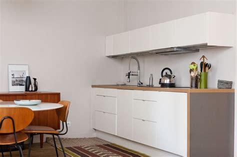 cuisine minimaliste cuisine ikea monobloc blanc les cuisines ikea en