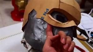 17  Captain America Cowl Diy 1  3 - Cardboard  U0026 Hot Glue  Template