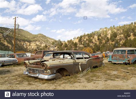 Old Boat Junk Yards by Classic Car Junk Yard Scrap Retro 1950 S 1950 Old Stock