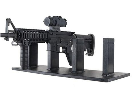 rifle display rack plastix plus ar 15 4 gun display stand plastic black mpn