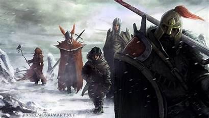 Dungeons Dragons Wallpapers Dnd Pathfinder Warrior Background