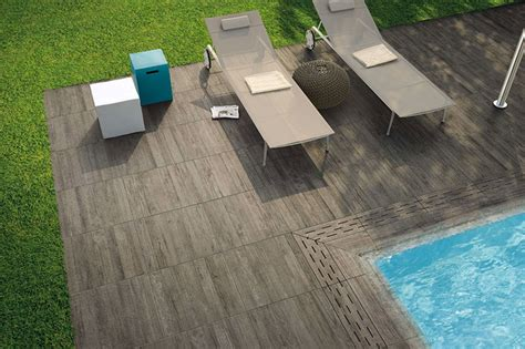 wood porcelain tiles contemporary deck other metro