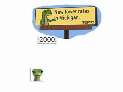 Insurance Geico Gecko Ad Advertising Campaign History
