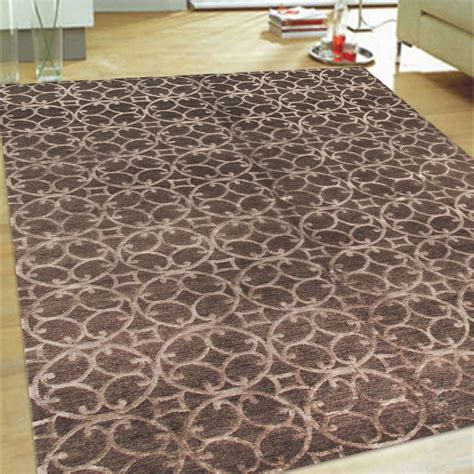 6x9 Wool Rug by Silk Wool Area Rug Circ 4 6x9 Pasargad Touch Of