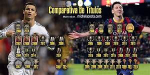 Lionel Messi Vs Cristiano Ronaldo Trophies | Foto Bugil ...