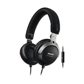casque avec micro philips shl 3565 noir casque audio achat prix fnac