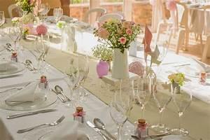 Deco Mariage Romantique : le mariage champ tre romantique de c cile avec une touche de rose mademoiselle dentelle ~ Nature-et-papiers.com Idées de Décoration