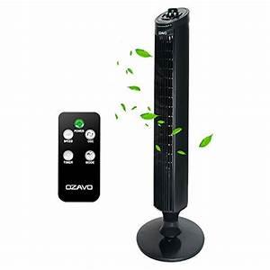 Ventilateur Silencieux Sur Pied : ozavo ventilateur colonne silencieux ventilateur tour ~ Dailycaller-alerts.com Idées de Décoration