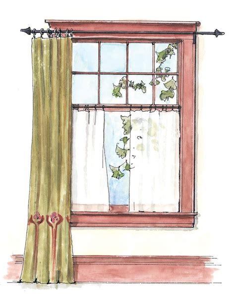 ideas  simple window treatments  house