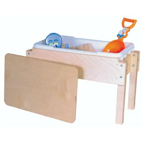 water table with lid awardpedia wood designs wd11812 petite tot sand and