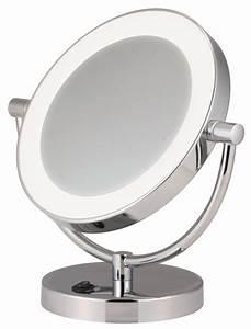 Miroir Rond Led : miroir grossissant clairage led ~ Teatrodelosmanantiales.com Idées de Décoration