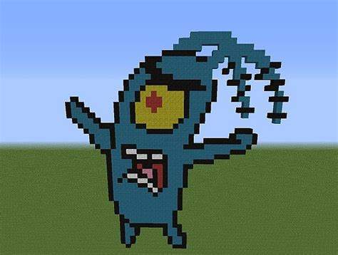 Pixel Art Minecraft Project