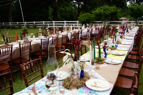 Rustic Louisiana Backyard Wedding By Amelia J Moore