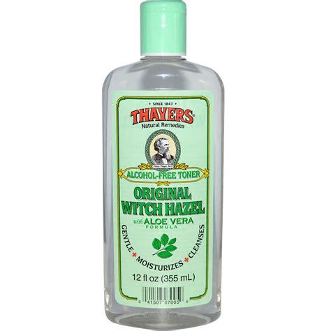 wich hazel thayers alcohol free toner original witch hazel 12 fl oz 355 ml iherb com