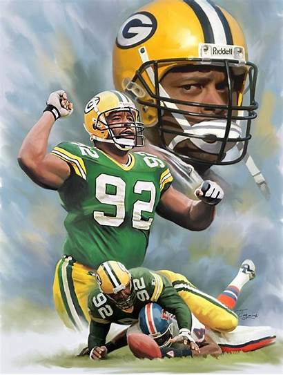 Packers Reggie Bay Football Defense Players Minister
