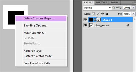 Define Customer by How To Define A Custom Shape In Photoshop Graphic Design