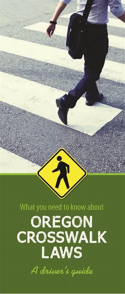 State Need Oregon Transportation Department Know Crosswalk