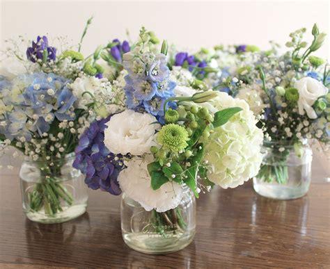 pretty soft blue hydrangea sweet lisianthus  cute