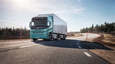 volvo  test electric trucks  europe transport topics