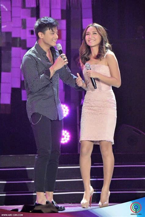 kathryn bernardo singing this is the handsome daniel padilla and the pretty kathryn