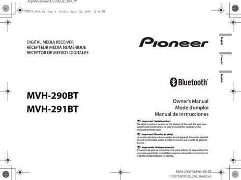 collection of pioneer avh 291bt wiring diagram sle