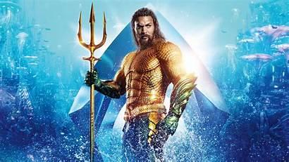 4k Aquaman Momoa Jason Film Hollywood Wallpapers