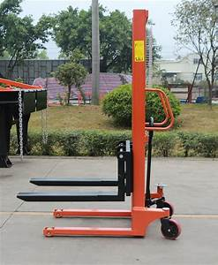 China 1 5ton Hand Pallet Lifter Manual Stacker Hydraulic