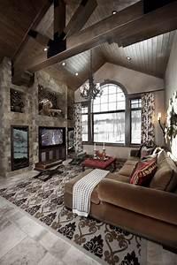 20 Stunning Rustic Living Room Design Ideas - Home